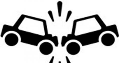 Car Accident Clipart Black And White